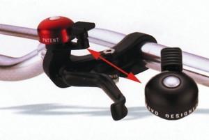 Mini sonnette montage de levier de fein