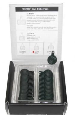 plaquettes Tektro boîte à 25 paires