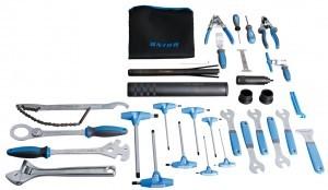 set outils vélo en caisse Unior
