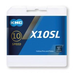 chaîne KMC X10SL Ti-N doré