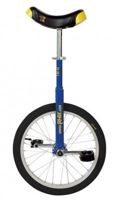 monocycle QU-AX Luxus 18' bleu
