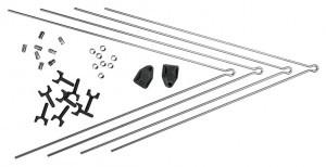 Kit tringles V,SKS SECU chromeop.RAV+RAR