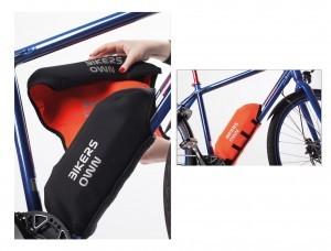 prot.cadre/batterie p.Bosch noir-orange