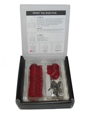 plaquettes Tektro boîte à 15 paires