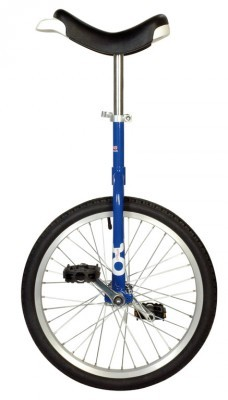 Monocycle OnlyOne 20' bleu