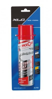 spray huile p. chaîne Cyclon Wet Weather