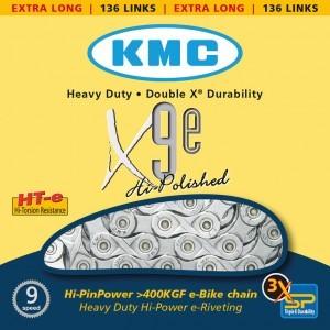 chaîne KMC X-9-E pour VAE