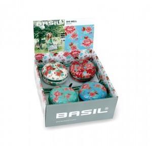 sonnette motif fleurs Basil