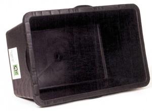 bac en plastique Roland 90 l noir