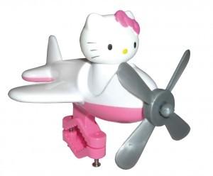 jouet pour cintre Hello Kitty