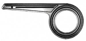 carter Horn alu SL23 1 branche
