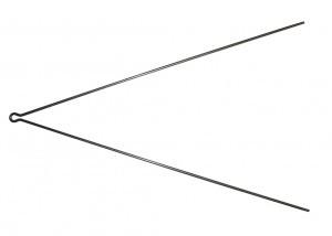 tringle V SKS 380mm (à l'unité)