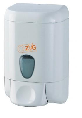 distributeur de savon en plastique blanc