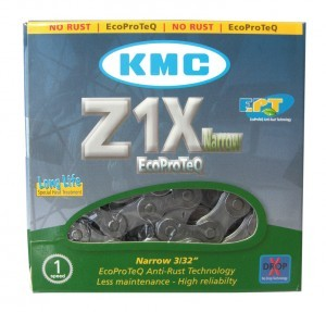 chaîne KMC Z1X Narrow EPT p.trans.moyeu