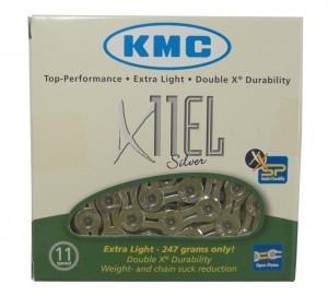 chaîne KMC X-11-EL argent renforcé