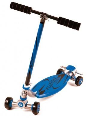 trottinette Fuzion Sport bleu alu