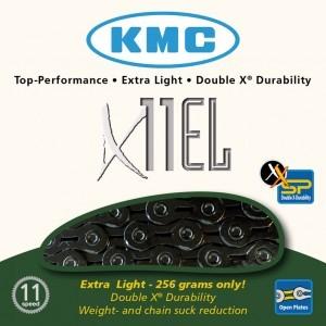 chaîne KMC X-11-EL Blacktech