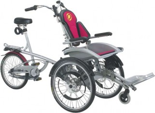 Fauteuil Roulant Opair Tricycle , Nexus 8-vitesses