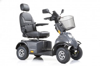 Scooter Mini Crosser M1 - noir - 50 Ah - 4 Roues 10 km/h