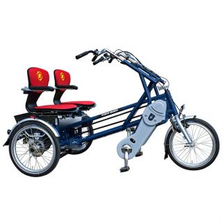 Tricycle Fun-2-GO Cote à Cote