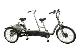 Tandem Tricycle Twinny Plus
