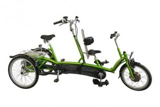 Tandem tricycle Kivos plus