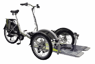 Porte Fauteuil Vélo Plus 3