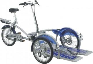 Transport de fauteuil roulant Vélo-Plus 3