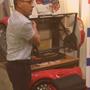 Démonstration du robot releveur IR 30 Salon Handica Lyon